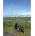 Biking in Bali